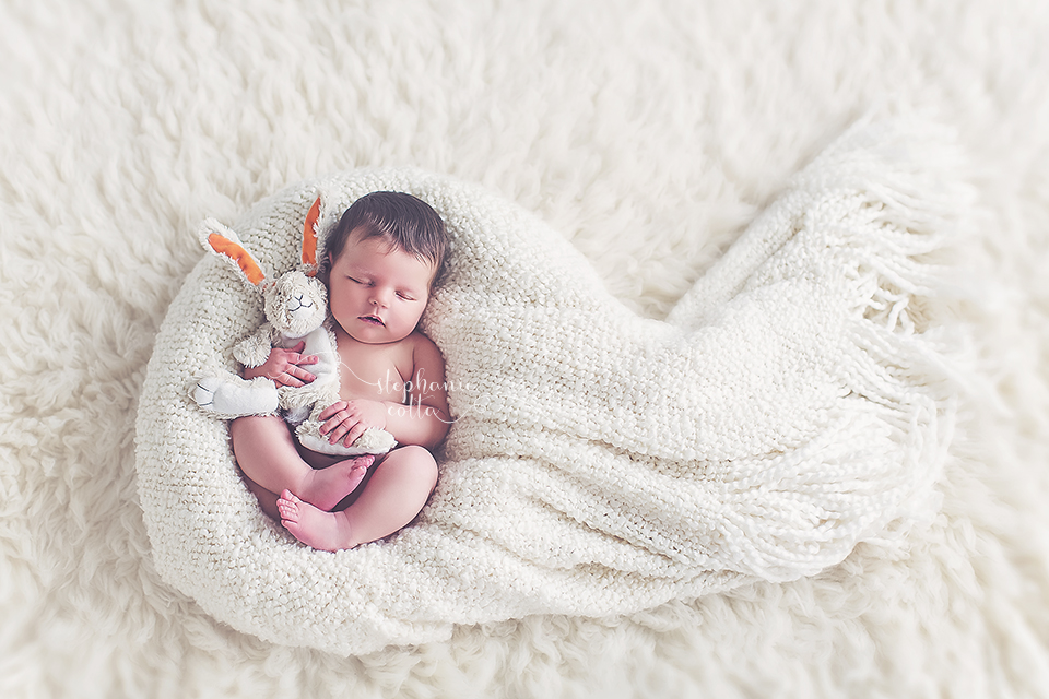 Happy easter st louis newborn photographer